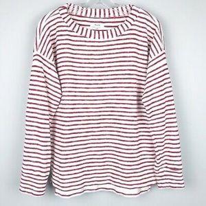 Madewell Surfbreeze Sweatshirt in Stripe